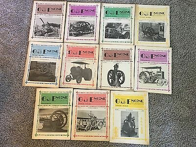 1975 & 1976 The Gas Engine Magazine, Lot of 11 issues