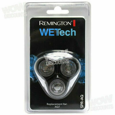 Remington Wettech Spraq Head and Cutter Assembly Rotary Shaver