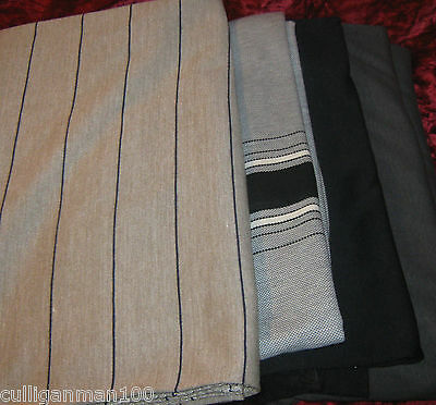 1 - lot of 4 - T'shirt Fabric in greys (2017-107)