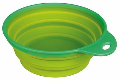Pet Cat Dog Food Water Dish Collapsible Bowl for Travel by TRIXIE 1L