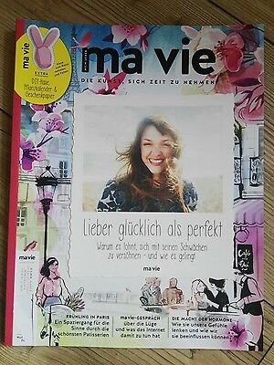 ma vie zeitschrift m rz april 2017 neuwertig eur 1 00. Black Bedroom Furniture Sets. Home Design Ideas