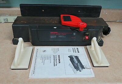 "Craftsman 4 1/8"" Jointer/Planer 149.236223 5/8 HP Free Shipping!"