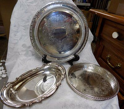 3 Vintage Silver Plated Pieces~Gorham, Fb Rogers, Camelot~International