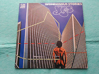 Single Yes - Wonderous Stories - Atlantic Spain 1977 Vg+