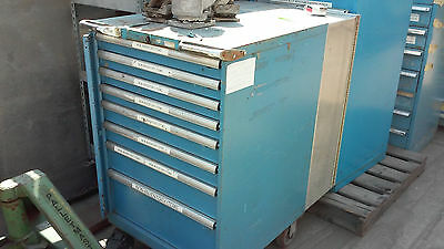 """USA Made, LISTA tool drawer CABINET W/ rolling wheels 28.5"""" x 42.5"""",  H: 47.5"""""""