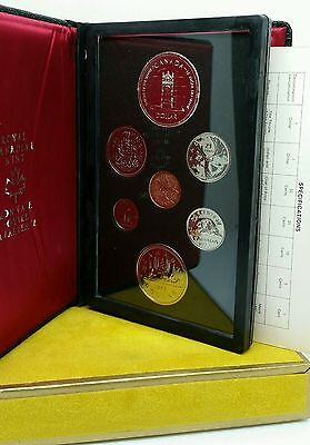 1977 Canada Dollar Silver Canadian Royal Mint Proof Coin Set