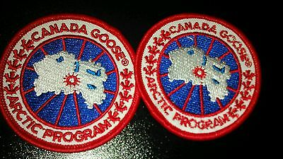 2x Canada Goose Replacement Badge / Patch New 6.2cm