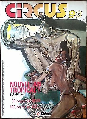 CIRCUS n°93 du 1/1986; Nouvel An Tropical; Schultheiss, 100 pages de Bd
