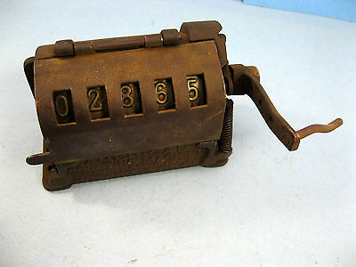 American Counting Machine 1907 Patent Mechanical