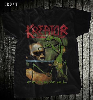 KREATOR-Renewal- Thrash metal-Sepultura-Sodom ,T-shirt-SIZES: S to 7XL