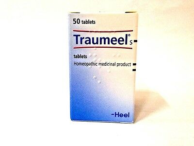 TRAUMEEL S Tablets 50 Anti-Inflammatory Pain Relief, Exp.01/2021