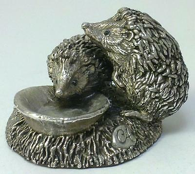 Vintage hallmarked Sterling Silver Hedgehog Figurine – 1993 by Country Artists