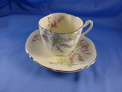 Vintage Paragon China  Cup and Saucer PRINCESS MARAGARET ROSE
