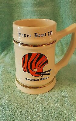 Cincinnati Bengals  SUPER BOWL Beer Stein