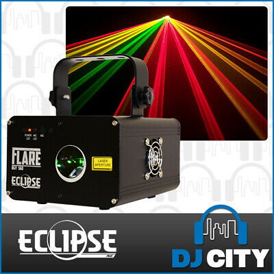 Ave ECLIPSE FLARE RGY 560mW RED GREEN YELLOW Laser Light DMX Mobile DJ Club P...