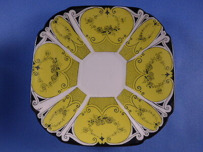 Vintage Shelley Fine Bone China Queen Anne, Plate 1926  Art Deco #723404