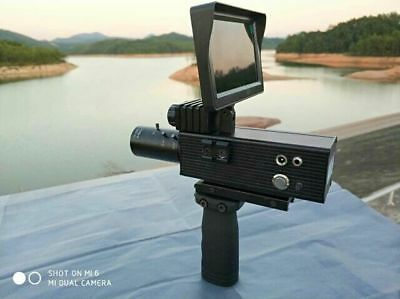 NEW ARRIVAL 12MP Day and Night Dual Use DIY Night Vision Scope W/ 4.3''Monitor