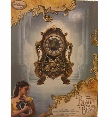 Disney's Beauty and the Beast COGSWORTH CLOCK ~ Limited Edition of Only 2000 ~