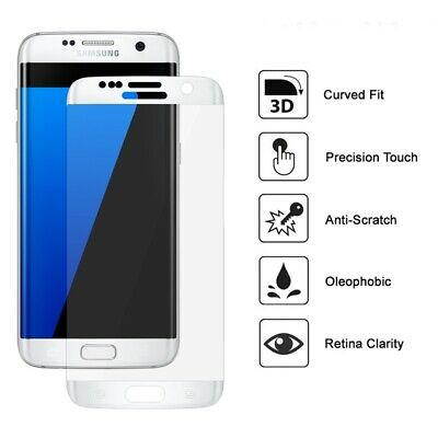 3D Covered Tempered Glass 9H super Film Screen Protector For for Samsung S7 Edge