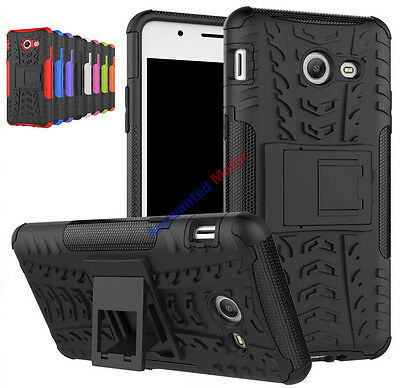 Cool Shock Proof Rugged Hybrid Armor Hard Case Kickstand Cover For Samsung Phone