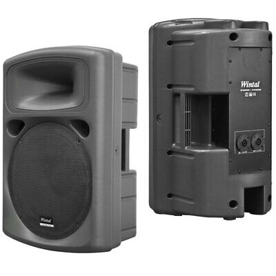 "12"" Wintal Stadium Titanium PRO 200W Active PA/DJ/Party Speaker Amplifier System"