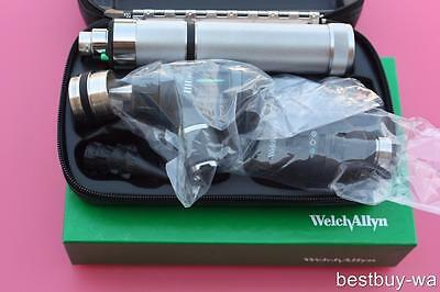 New Welch Allyn Diagnostic Set 23810 Macroview Otoscope 11720 Ophthalmoscope