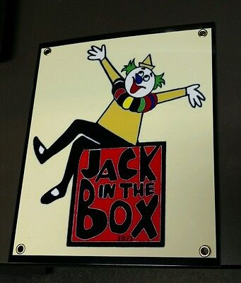 Jack in the Box sign ...restaurant fast food