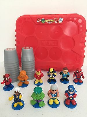 *RARE* Marvel Spider Man & Friends Super Hero 3D Memory Match Up Game Complete