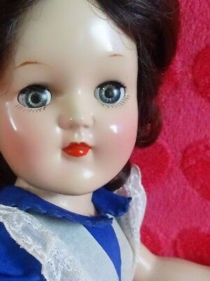 "VERY PRETTY!!! Vintage 1950 ""TONI DOLL"" 16"" By Ideal Co. Hard Plastic Doll"