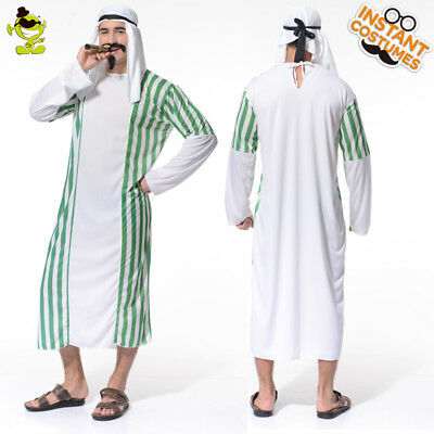 Mens Desert Prince RobeCostoms Arabian Sultan Sheik Shiek Halloween Costume  sc 1 st  PicClick : sheik halloween costume  - Germanpascual.Com
