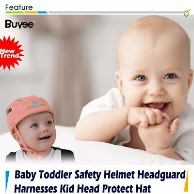Infant Baby Toddler Safety Helmet Kids Head Protection Hat for Walking, Crawling