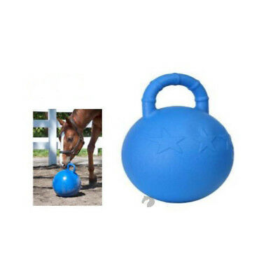 NEW Horseplay star BALL with handle Self inflating Horse Dog Ball FREE Postage