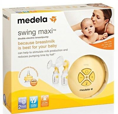 Medela Swing Maxi Double Electric Breast Pump BNIB