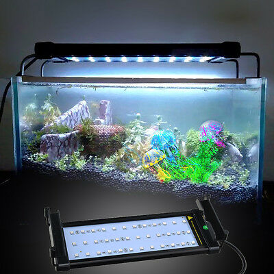 Hood Lighting Color Changing LED Remote  Dimmable Aquarium Fish Tank Light Lamp