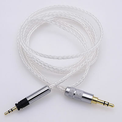 8 core Silver plated Headphone Upgrade Cable For Sennheiser Momentum