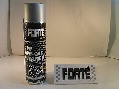 2 FORTE DPF Off Car Cleaner 500ml - Foam Action Cleaner - Restores Blocked DPF's