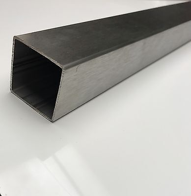 30mm 40mm 304 Stainless Steel Square Tube box section 1.5mm Wall Thickness