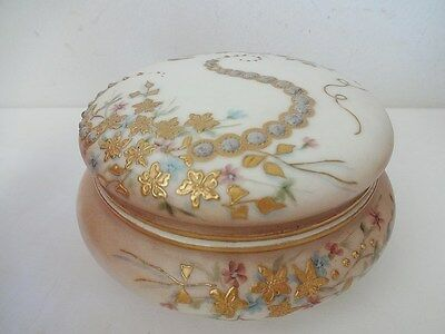 Antique Jeweled Limoges Powder Box - Tresseman and Vogt