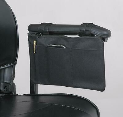 Mobility Scooter / Wheelchair armrest bag, New from Ducksback (Black)