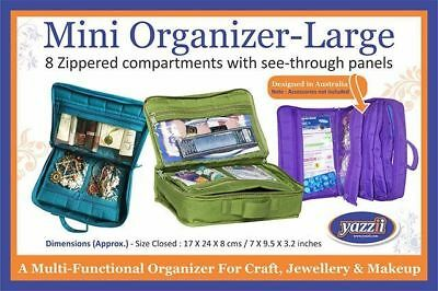 Yazzii - Mini Craft Organizer - Available in Various Colors - Multi Functional