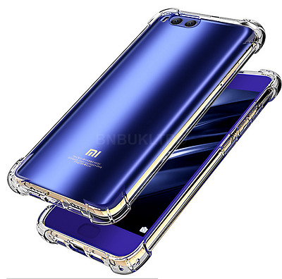 Hybrid Shockproof Ultra Thin Slim Clear Gel Case Cover For Xiaomi Mobiles