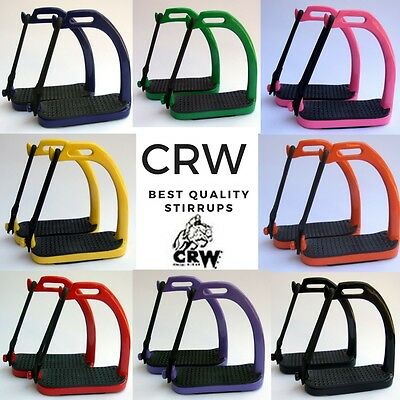 Steel Peacock Stirrups Horse Equestrian Riding Safety Iron 8 Colors