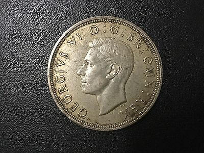 1937 Great Britain One Silver Crown Coin!