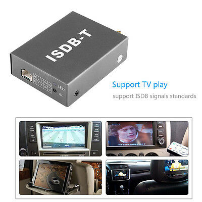 Mini TV A/V Box ISDB-T Analog Signal Receiver For DVD Player Monitor Portable LJ