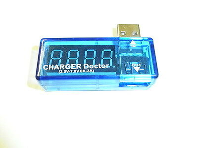 voltometro amperometro  doctor charger usb