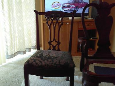 Queen Anne arm chair #1201 Karges Furniture has been in Evansville,in for 125 ye