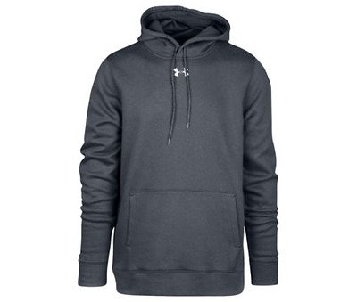 a59246a26 Under Armour Men's Hustle Fleece Hoodie New Carbon/White (1300123) FREE  POSTAGE