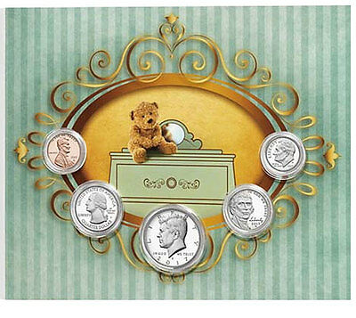 2017 US Mint Birth coins Set for new born Baby