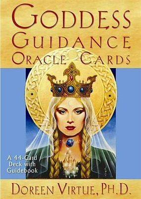 Goddess Guidance Oracle Cards Wiccan Pagan Metaphysical