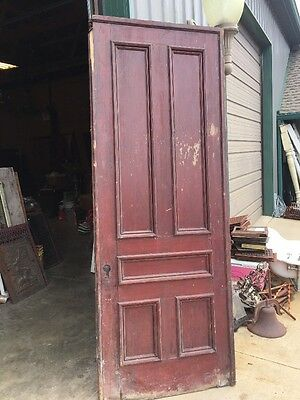An 405 Antique Single Pocket Door 36 X 95.5 X 2.5